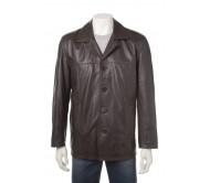 MEN LEATHER FASHION JACKET