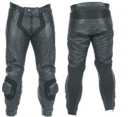 MOTOR BIKE LEATHER TROUSERS